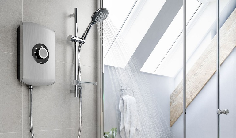 best electric shower feature