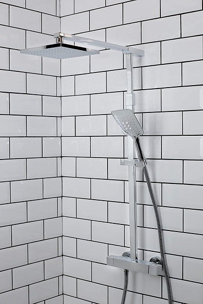 mixer shower with square head