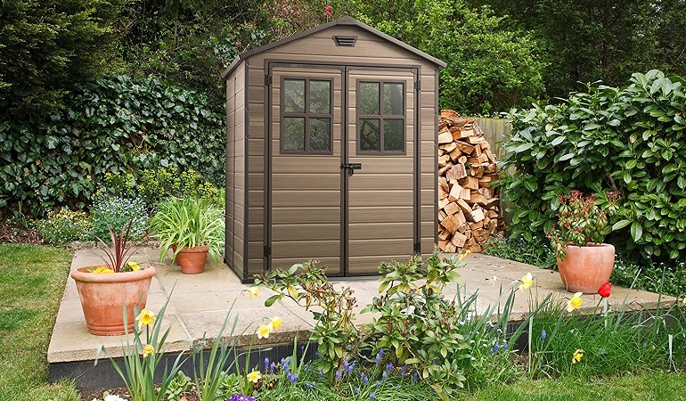 keter best plastic shed