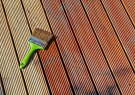 Paint or Stain for Decking